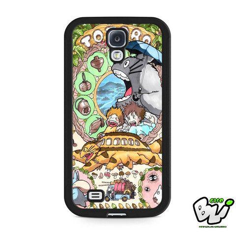 Anime My Neighbor Totoro Samsung Galaxy S4 Case