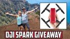 nice This Youtuber is giving away a DJI Spark Drone! {ww} #giveaway #sweeps #win