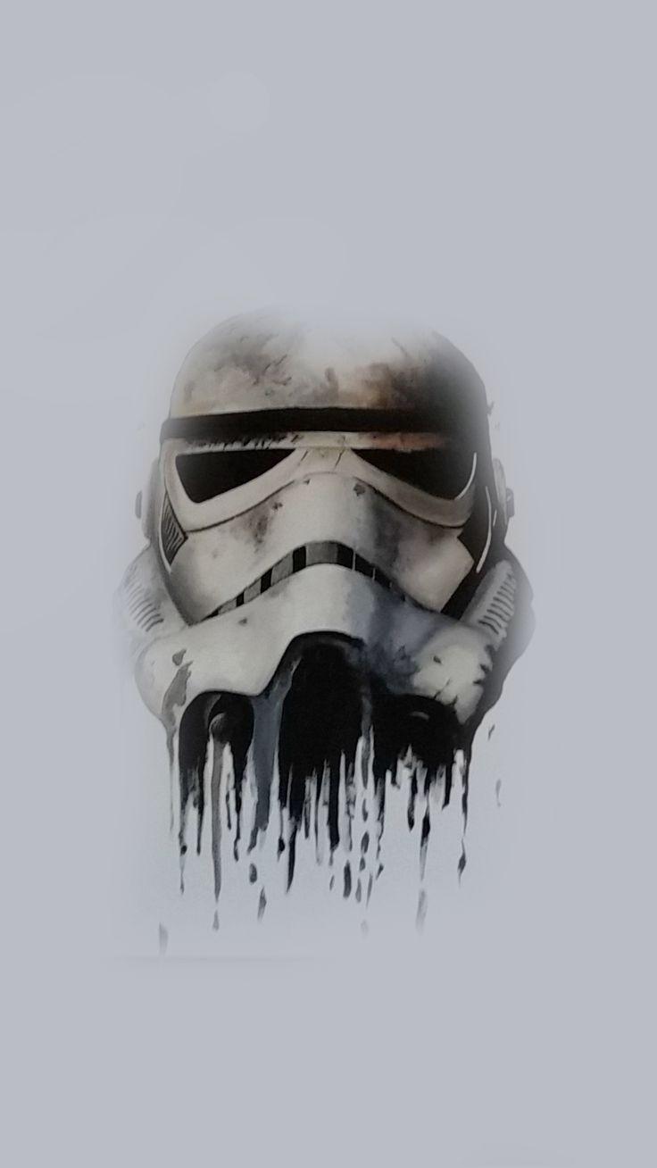 Stormtrooper Helmet Star wars tattoo, Star wars poster
