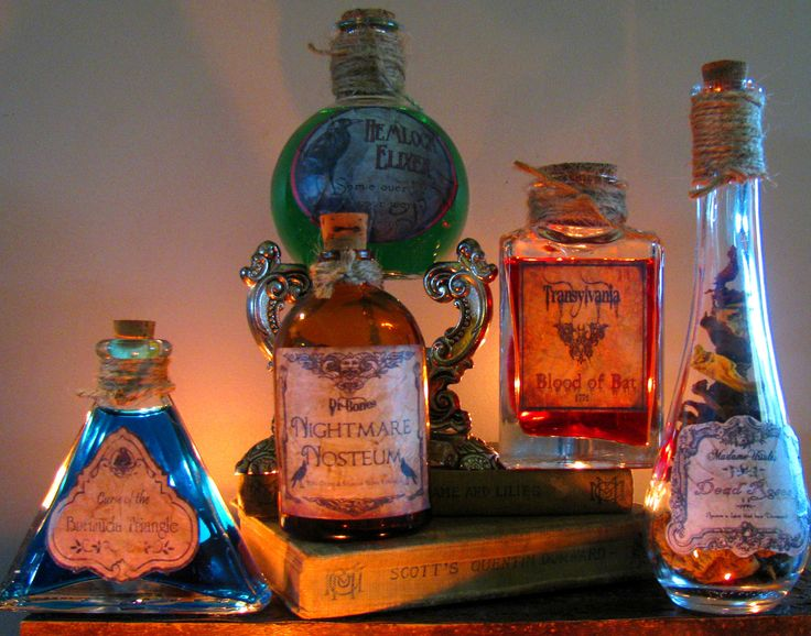 Halloween Decorations Potion Bottles Classy 90 Best Potion Bottles Images On Pinterest  Halloween Labels Review