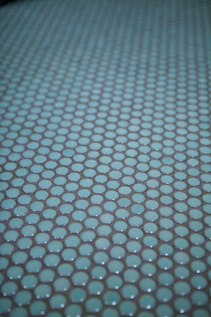 Tile Love The Dark Grey Grout With The Blue Tiles For
