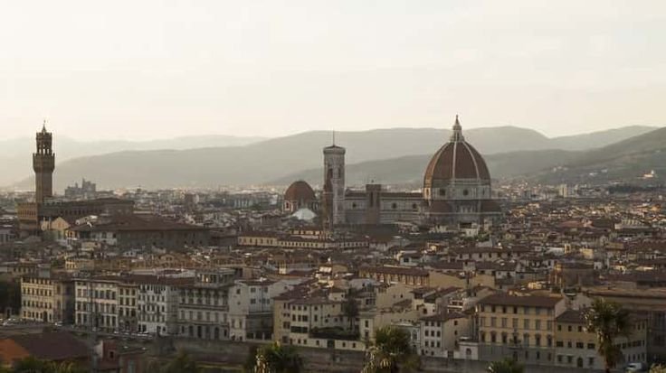 Day to night in Florence