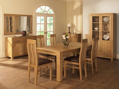 Oak Furniture In UK Will Be The Best Option As It Offer Proper Functionality And Modern Dining RoomsDining