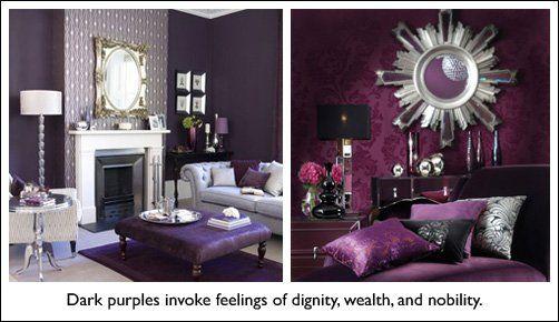Feng shui colour — purple