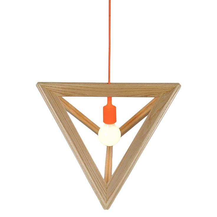 Zanui Ceiling Lights : Replica herr mandel wood lampframe pendant lamp by