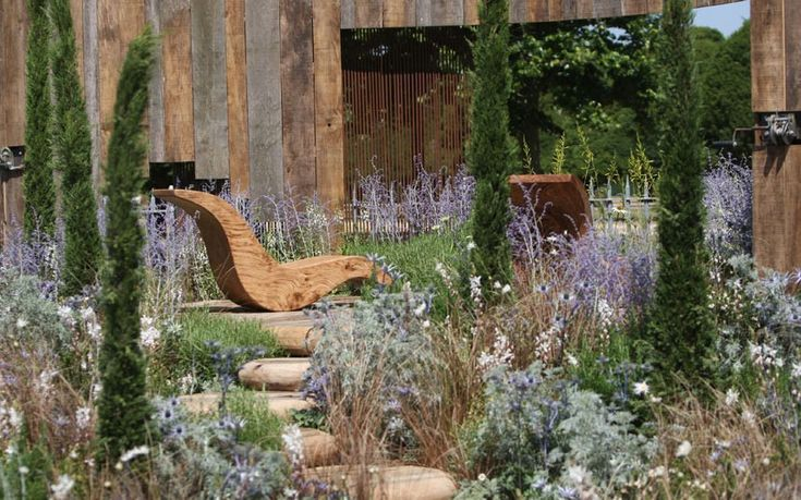 A Room with a View garden: gold medal winner