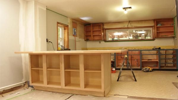 DIY Kitchen Island - Check out how to create a your own island out of standard kitchen cabinets. Here's the step to an easy and cheap kitchen island: http://livewelln.co/1b2Hfkc