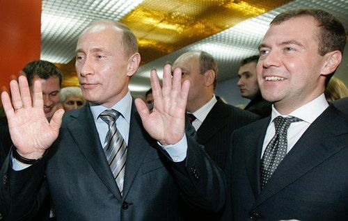 Последний рабочий день Путина