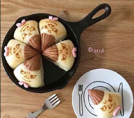 ミイのちぎりパン♡