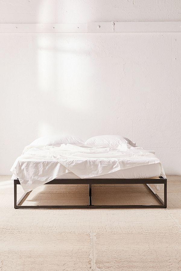 Minimal Platform Bed Frame Minimal Bed Frame Black Bed Frame Bed Frame