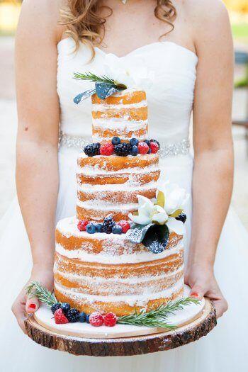 Naked Cake Torte In 2019 Hochzeitstorten Wedding Cake Und Torte