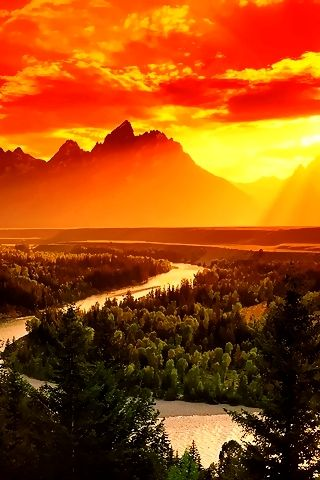 Grand Teton National Park, Wyoming   A1 Pictures