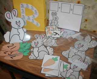 R is for rabbit: Preschool Materials, Joy Schools