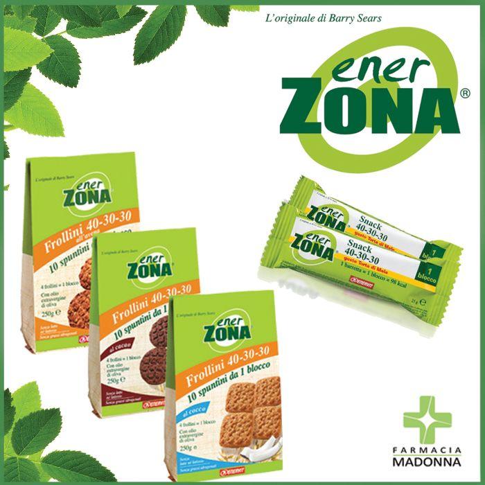 Nella nostra farmacia puoi trovare i prodotti del marchio EnerZona, un'esclusiva linea in sintonia con i principi della strategia alimentare Zona  #farmaciaallamadonna #farmacia #mestre #enerzona #dieta #natale