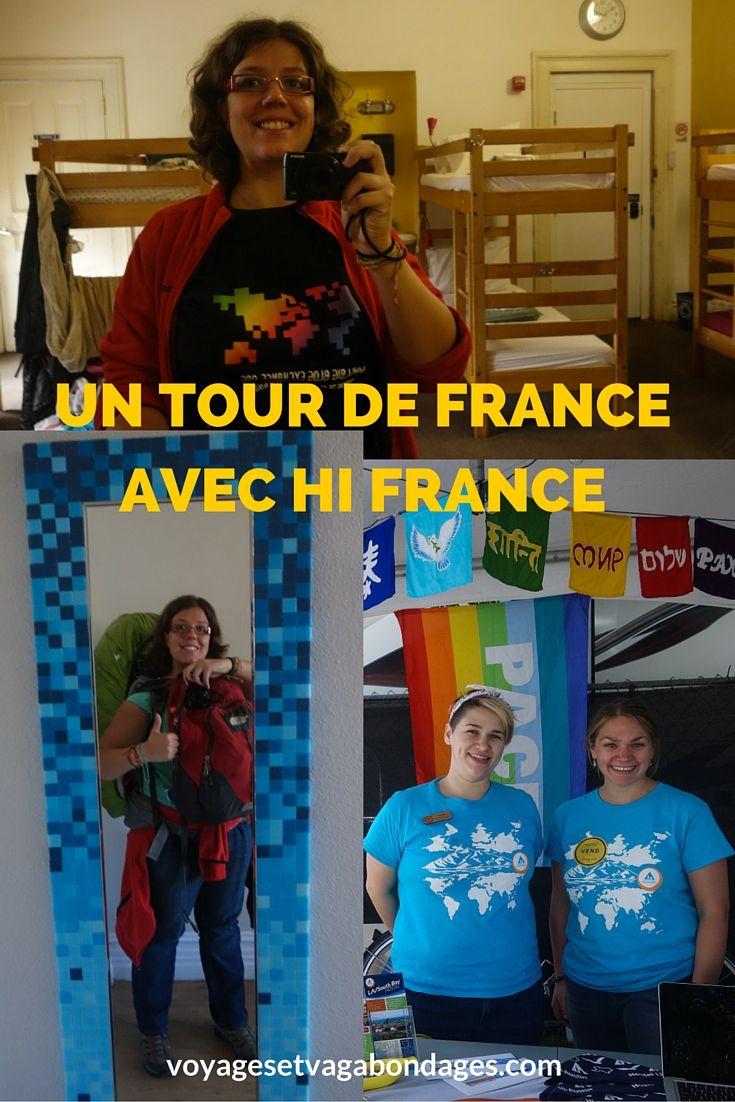 Un mini tour de France, l'Est de la France, avec les auberges de jeunesse HI France à Lille, Lyon, Chamonix, Marseille et Nice. C'est parti!