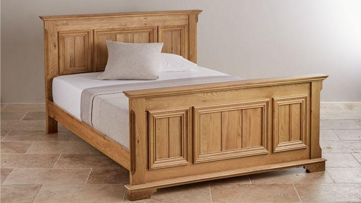 Oak Super King-Size Beds | Bedroom Furniture | Oak Furniture Land