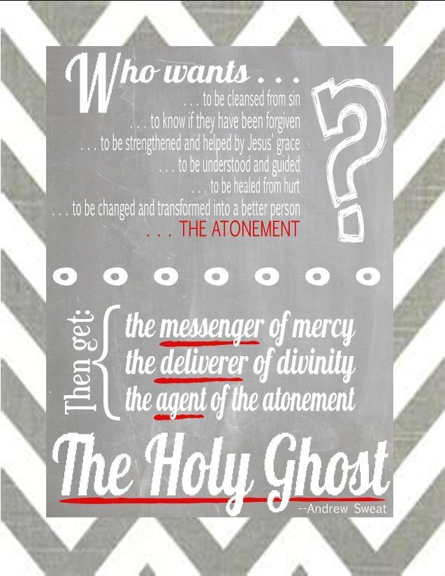 how to receive the gift of the holy ghost