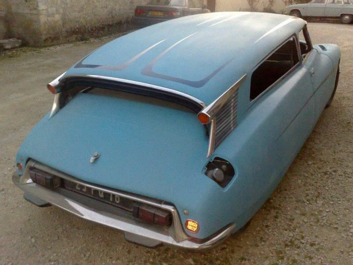 """Citroen Station Wagon ~ Purportedly with the best suspension in the world back then. ~ Miks' Pics """"Era Automobiles ll"""" board @ http://www.pinterest.com/msmgish/era-automobiles-ll/"""