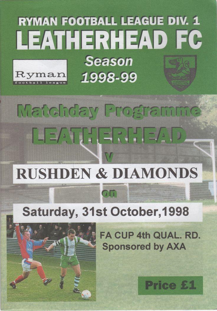 Leatherhead FC in Leatherhead, Surrey