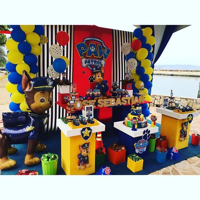 Las 25 mejores ideas sobre fiesta tematica paw patrol en - Fiesta de cumpleanos infantil ideas ...