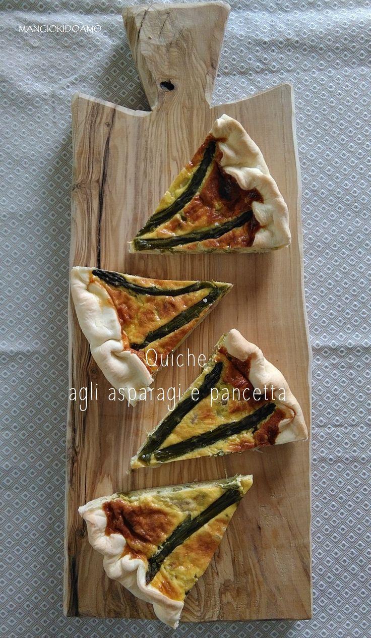 quiche agli asparagi e pancetta