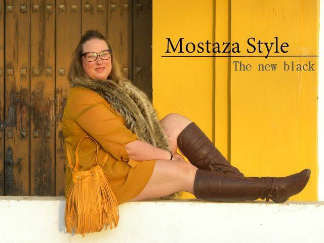 Los looks de mi armario: Mostaza en Sevilla · Look Curvy