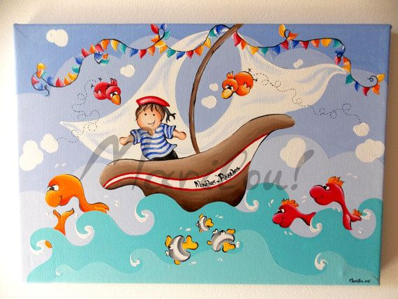 Hey, I found this really awesome Etsy listing at https://www.etsy.com/listing/197674200/nursery-art-original-acrilyc-painting