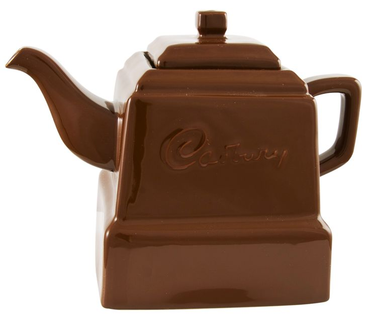 Chocolate   Cadburys Chocolate Teapot