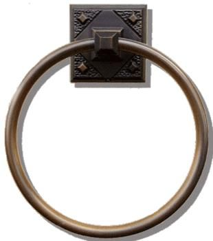 Atlas Homewares Bathroom Accessories Craftsman Towel Ring