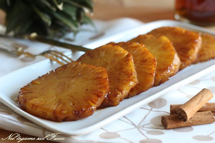 Ananas+caramellato