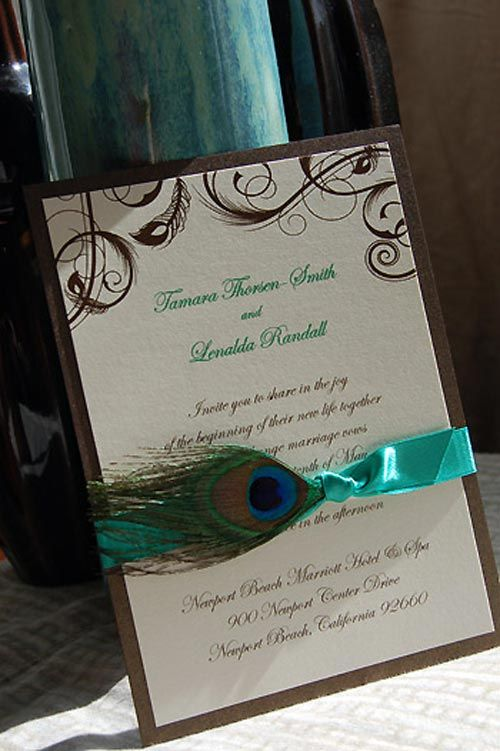 Feathered Invitationvendors Paper Olive Letterpress Amp Custom Invitations    Browse The Best Wedding Photos And Pictures At Project Wedding.