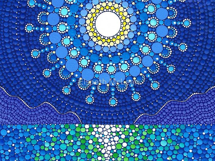 «Full Moon Splendour» de Elspeth McLean