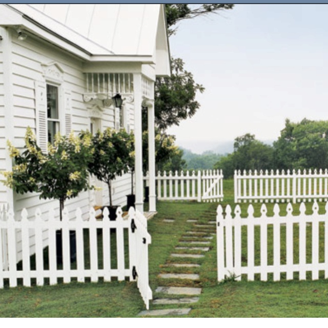 High Resolution Landscaping With Stones 9 Front Yard: 63 Best Picket Fence Love Images On Pinterest