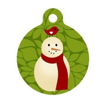Tags, Snowman and Pet tags on Pinterest