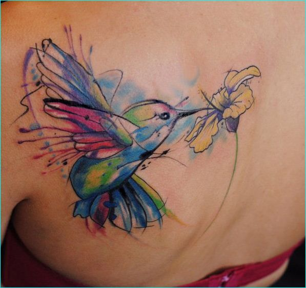 Hummingbird Tattoos Designs Ideas And Meaning: 15 Hummingbird Tattoos And Their Unique Meanings