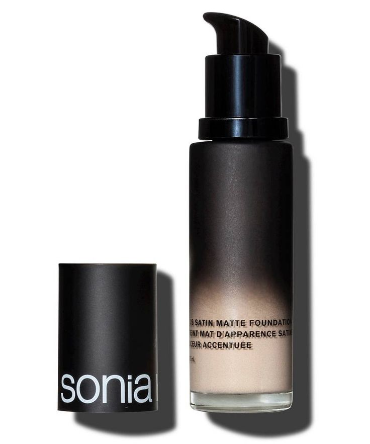 8 Full-Coverage Foundations So Good, They Melt into Skin - Sonia Kashuk Satin Matte Foundation from InStyle.com