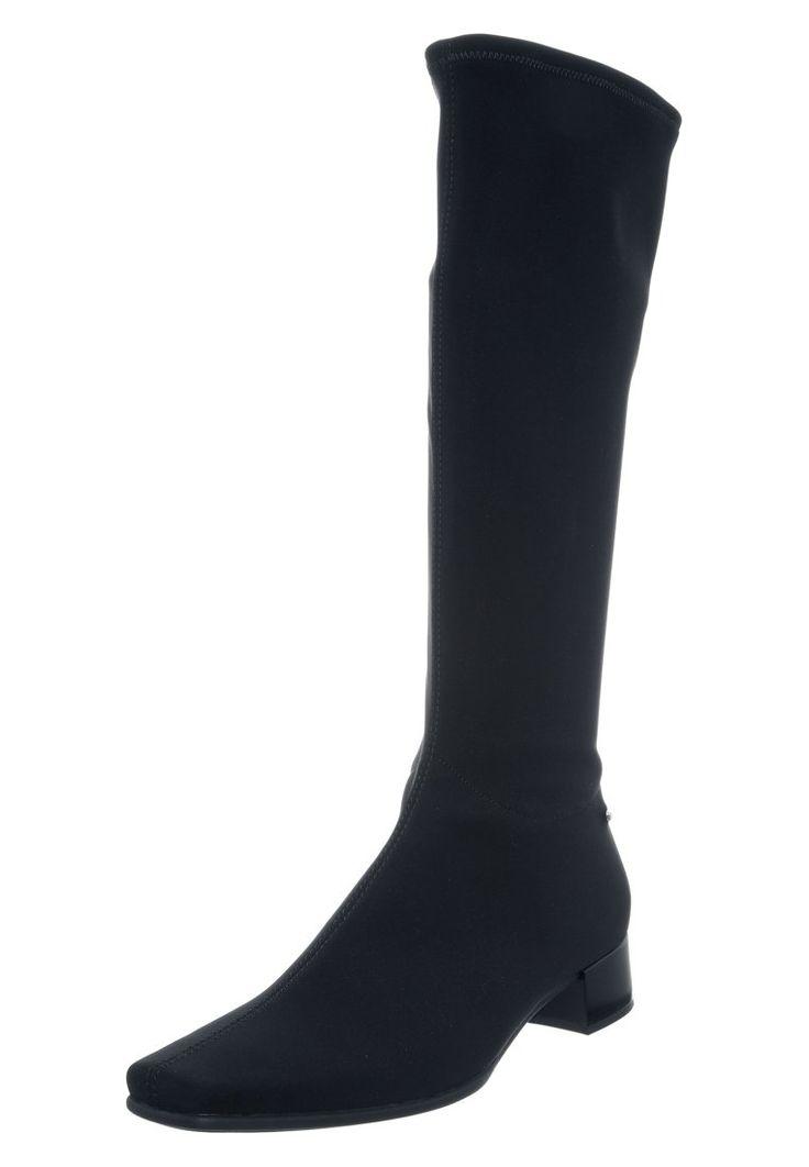Schwarzer Stiefel mit elegantem Look. Gabor Stiefel - schwarz für 116,95 € (15.01.16) versandkostenfrei bei Zalando bestellen.