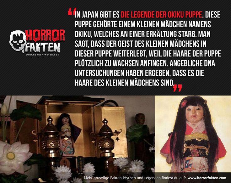 Die Legende der Okiku Puppe