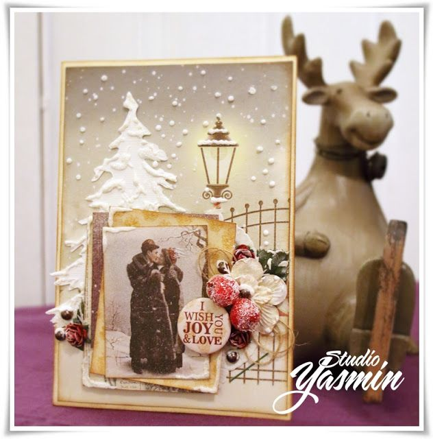 Christmas Card made as DT Scrapberry's :)