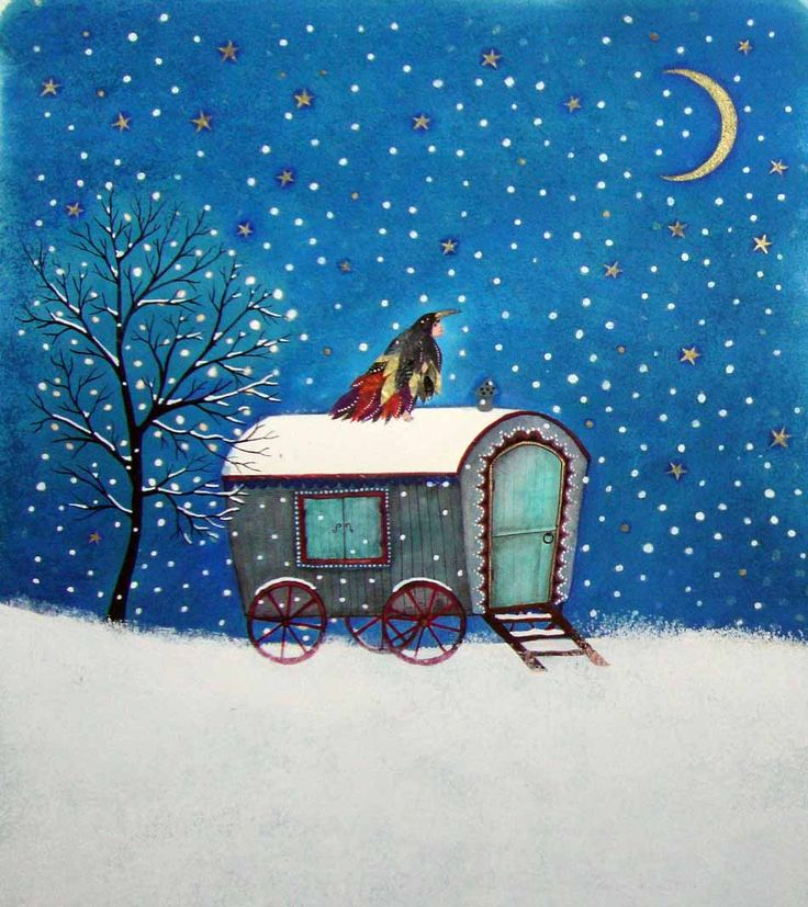 Jane Ray look sissy. it is the gypsy cart with the missing board. hope she has a space heater and a big fluffy kitty