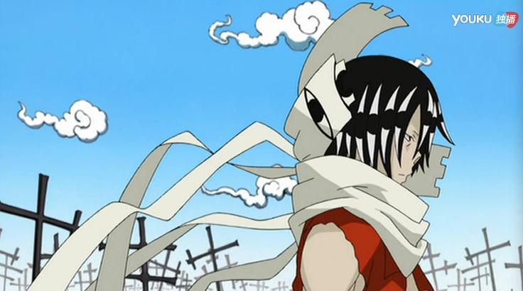 E48: Asura lands in the Death Room, where he is confronted by Lord Death and Death Scythe