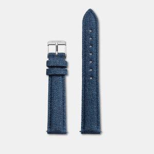 Minuit Strap Blue Denim/Silver