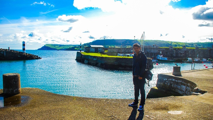 In small fishing town ( Northern Ireland)