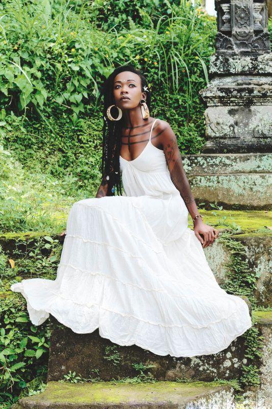 Kulig megane maxi dress