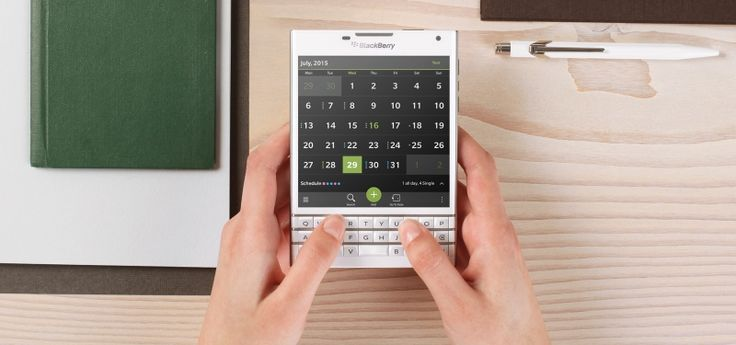 #Blackberry presentó su nuevo #smartphone #Passport
