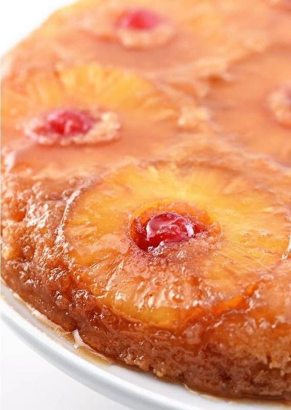 cast iron skillet recipes Pineapple Upside Down Cake