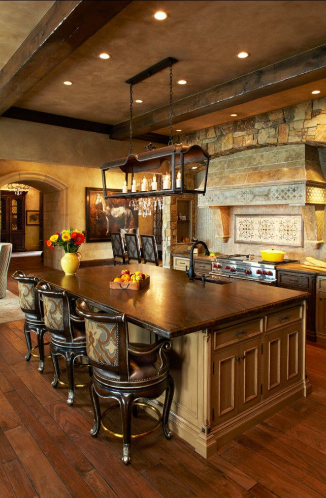 French Country Kitchen. Inspiring #French #Country #Kitchen