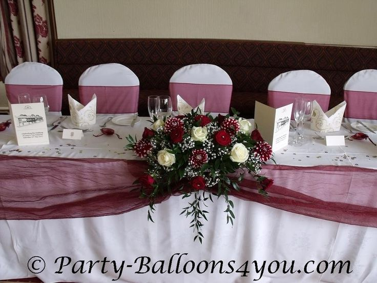 M a r o o n b u r g u n d y a collection of ideas to for Burgundy wedding reception decorations