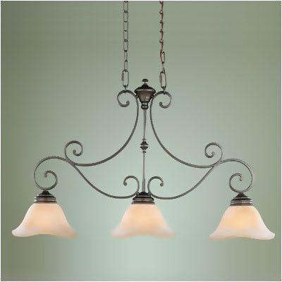 found it at wayfair feiss tuscan villa 3 light kitchen island pendant pendant