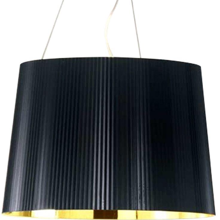 Gé pendel, svart/guld i gruppen Belysning / Lampor / Taklampor hos RUM21.se…